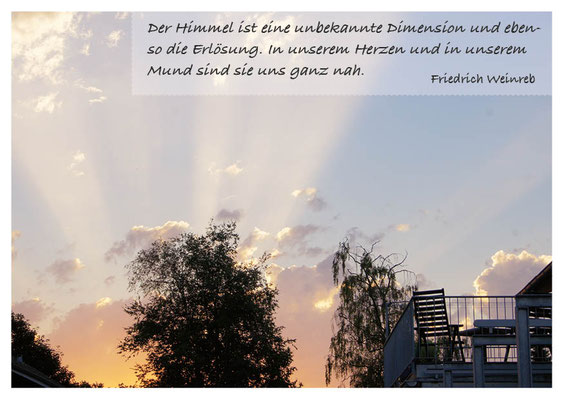 Himmel - Erlösung ist nah in uns  Nr. 166