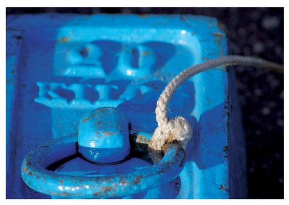 blauer Gewichtsstein Nr. 11