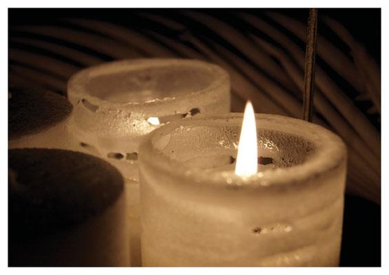 Kerzen Sepia Nr. 201