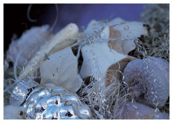 blaue Weihnachtsdeko 1  Nr. 138