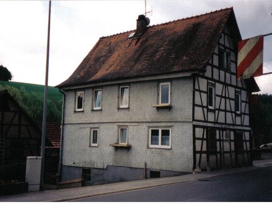 Schmitt Architektur Heidelberg- Umbau und Instandsetzung eines alten denkmalgeschützten Bauernhauses - vorher
