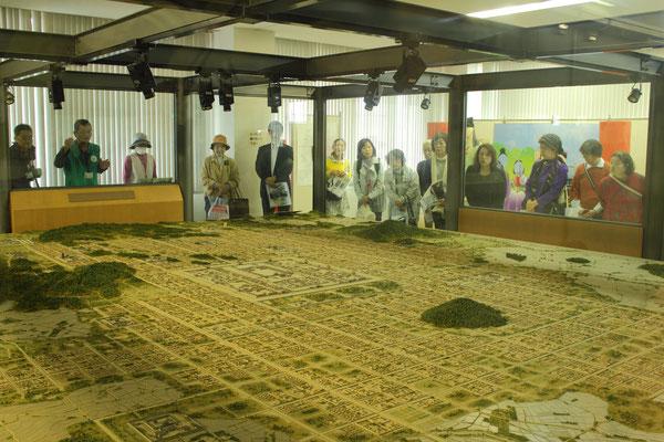 橿原市藤原京旧跡資料館を見学