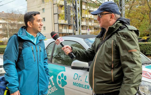 FFM JOURNAL INTERVIEW mit Tierarzt Dr. Lizcano © dokfoto.de/Friedhelm Herr
