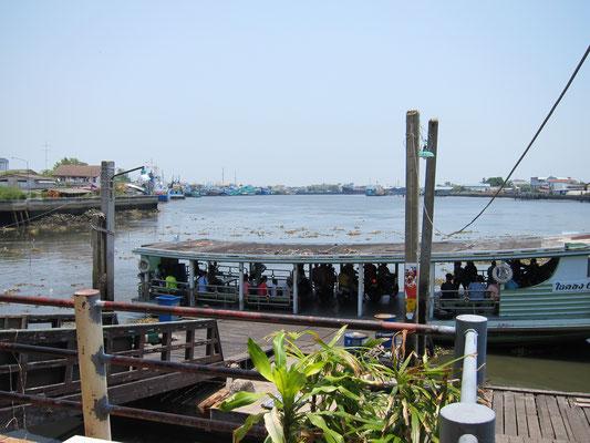 Mahachai Market Hafen