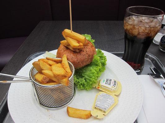 Burger im KaDeWe
