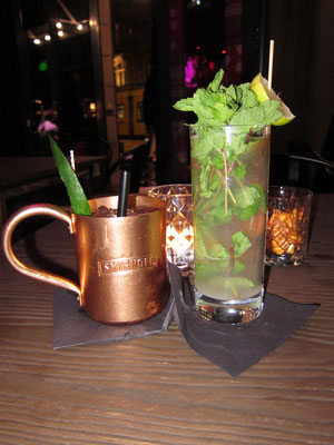 Sharlie Cheen Bar Moskau Mule