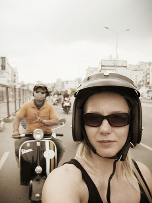 Vespa Tour Saigon