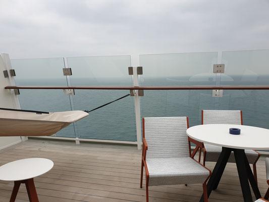 Himmel und Meer Suite Balkon