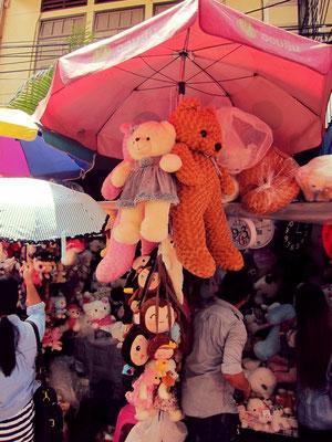 Plüschtier Chinatown Bangkok