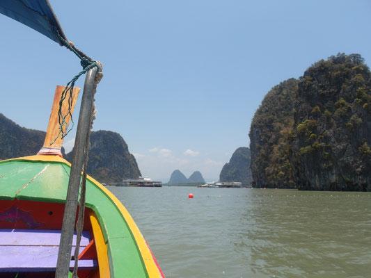 Kalksteinfelsen Thailand