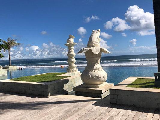 Seminyak Beach Resort Infinity Pool Bali