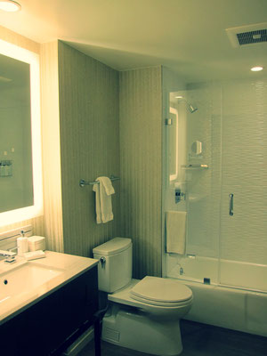 Badezimmer Hotel Zoe