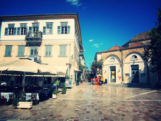 Nafplio Altstadt