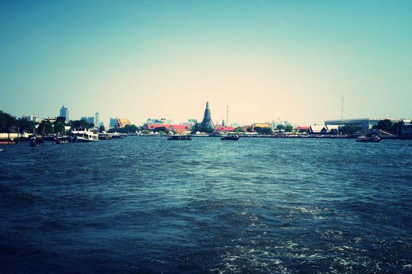 Wat Arun Chao Phraya River Bangkok
