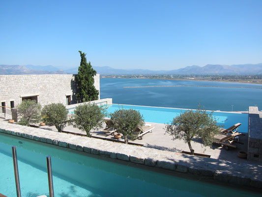 Nafplia Palace Deluxe Bungalow Seaview