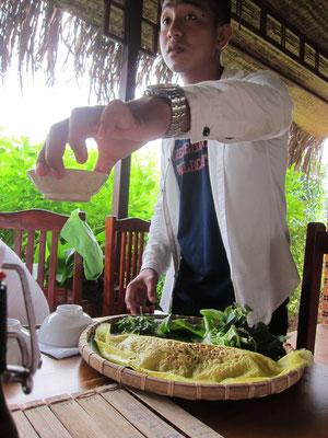 Mittagessen Pepperfarm Phu Quoc