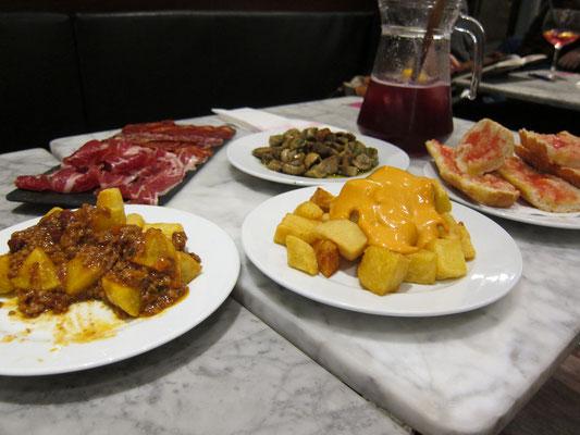 Tapas BarElisabeth Barcelona