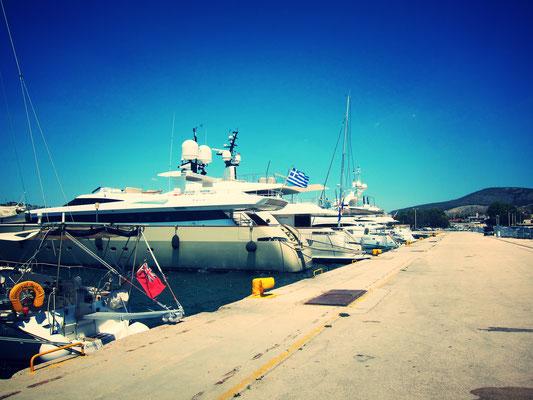 Nafplio Yachthafen