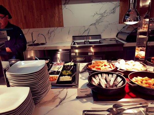 Hard Rock Hotel Teneriffa Frühstücksbuffet