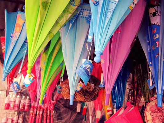Regenschirm Chinatown Bangkok