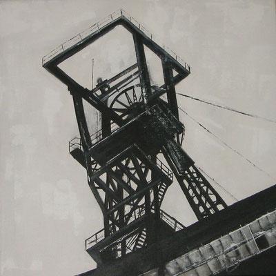 von der Heaydt -  40cmx40cm - Acryl auf Leinwand