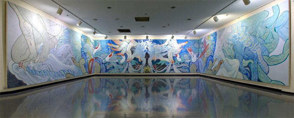サファイアの角               @神奈川県民ホールギャラリー