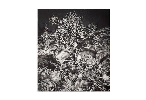 夏の記憶Ⅱ 銅版画 2014年