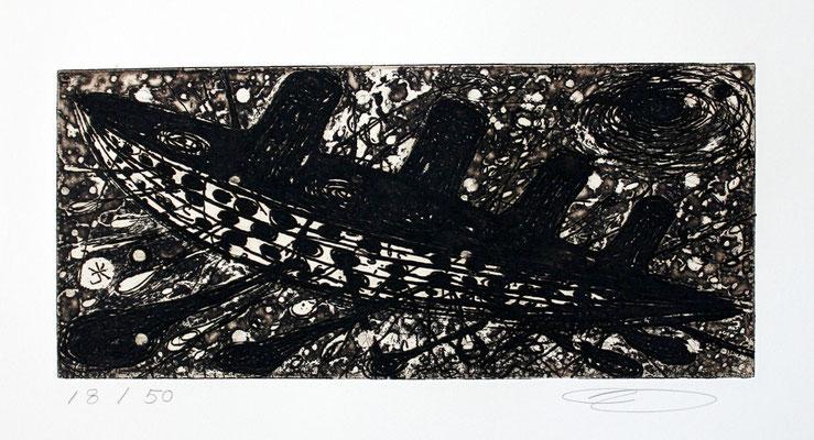 Keisuke Yamaguchi/ 山口啓介「フィラデルフィアダイアリー」 銅版画