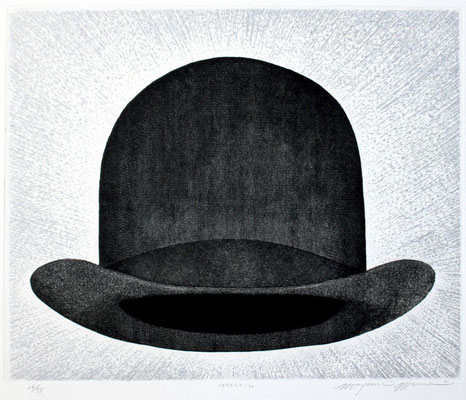 Mayumi Morino/ 森野眞弓「OBJECT-L」銅版画