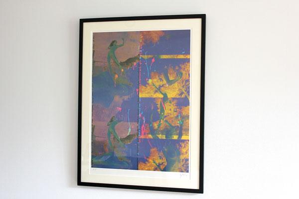 横尾忠則 「メジャーアルカナⅢ」リトグラフ 1986年