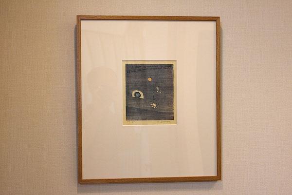 Naobumi Seimiya/清宮質文「われむかしの日いにしえの年を思えり」木版画 1982年