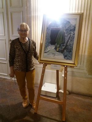 Cerimonia di chiusura RIFLESSI DI STORIA presso Villa Vecelli Cavriani, Mozzecane 4 Novembre 2018