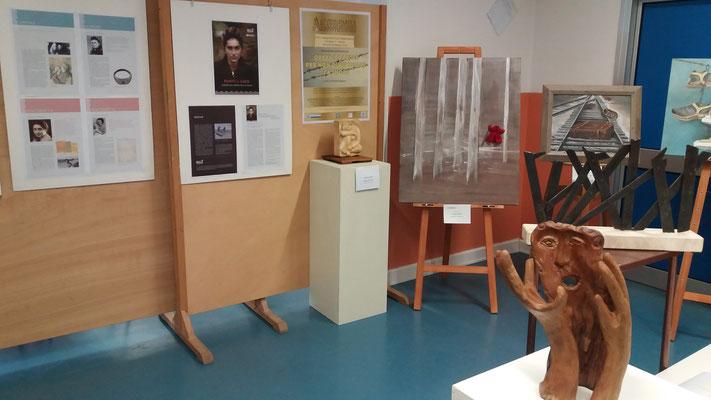 La mostra presso la Scuola Mario Mazza, Verona