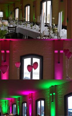 Hochzeit im Waschhaus Alt-Köpenick - die passende Farbe zum richtigen Moment