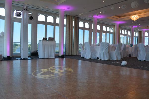 Raum Belle Etage im Resort Schwielowsee - perfekt für Hochzeiten geeignet