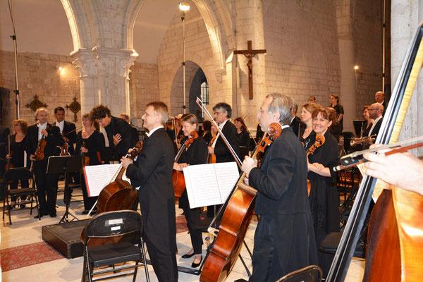 Un orchestre en connivence avec le public.