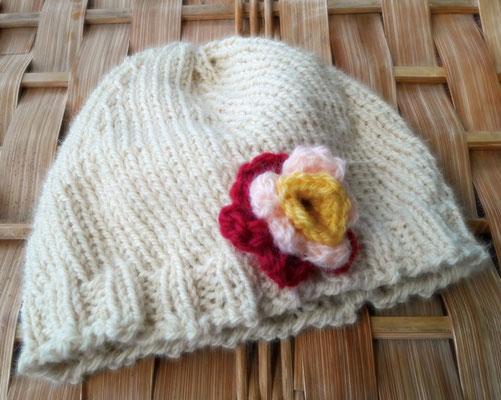 Bonnet naissance  1er âge par Isa L.