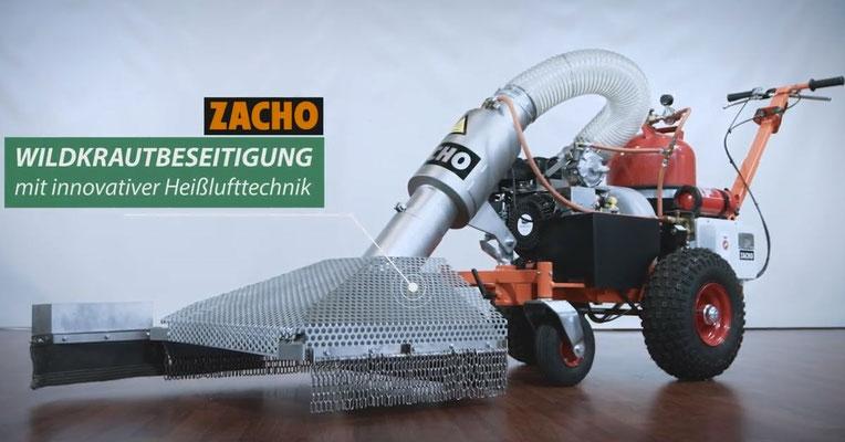 Abflammgerät Zacho UKB 650