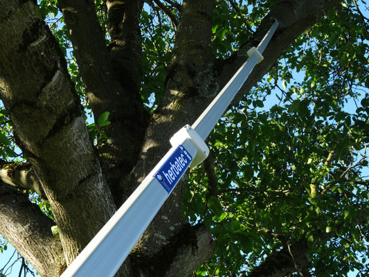 herbatec click & work Teleskopstange Alu-Line