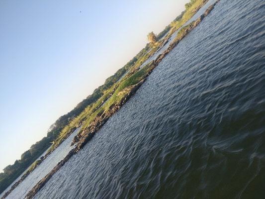Unser Freund Munene hat uns zum Sunset Boatcruise auf dem Zambezi eingeladen