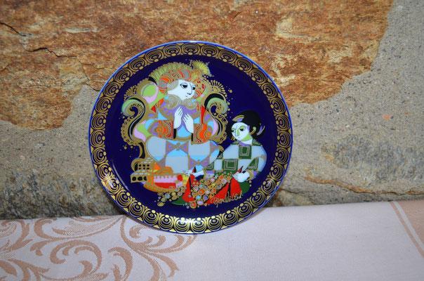 Aladin und die Wunderlampe VIII, Rosenthal Sammel-Wandteller. Designer Björn Wiinblad. Preis: 5,00 €