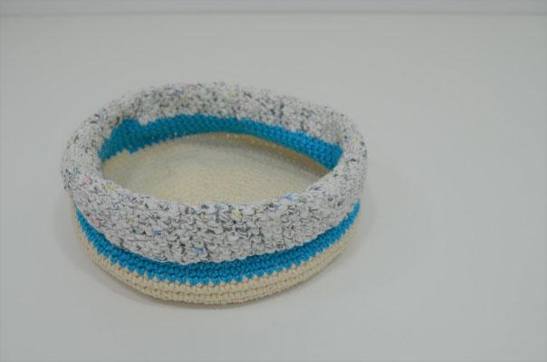 Utensilo aus Baumwollgarn. Design und Handmade by Zeitzeugen-Manufactur. Preis: 5,50 €
