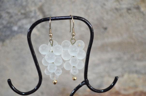 Modeschmuck Ohrhänger in Traubenform. Etwa 1990er Jahre. 3,50 €