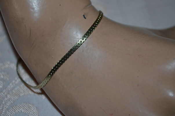 feines, goldenes Modeschmuck Armband in Top Zustand. Preis: 3,00 €