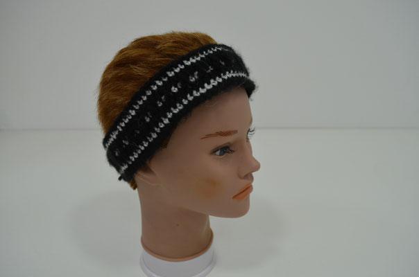 Stirnband, gehäkelt im Skandinavischen Stil. Handmade und Design by Zeitzeugen-Manufactur. 4,00 €