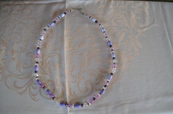 Modeschmuck Kunststoff Perlenkette. Preis: 4,00 €