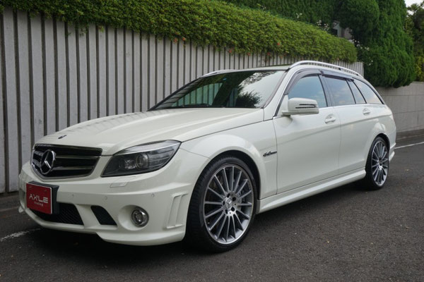 217 mercedes benz amg c63 station wagon sold ax 39 le for Mercedes benz c63 amg wagon