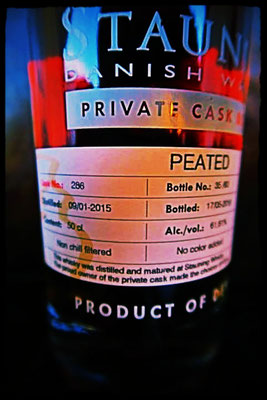 Stauning Private Cask 286 Peated