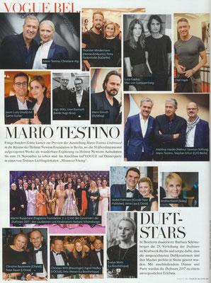 OLIVER & CO & weitere Preisträger der Duftstars 2017 in: VOGUE Ausgabe August 2017, S. 170.