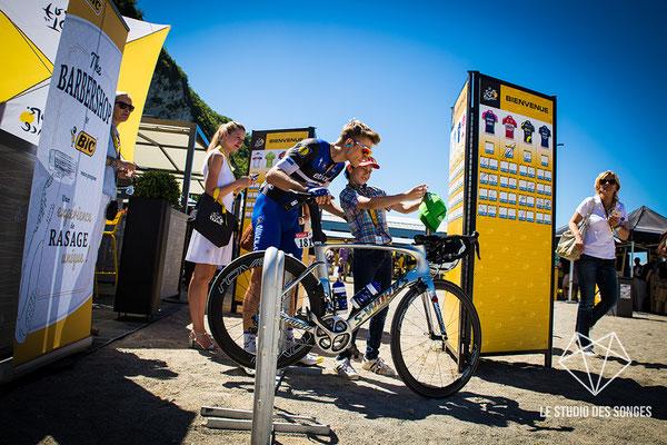 Tour de France 2016 - Lundi 18 juillet 2016 -Etape 16 - Moirans-en-Montagne - Julien Joubert Barbier - Marcel KITTEL